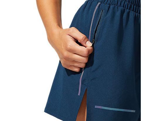 反光跑步短褲 FRENCH BLUE