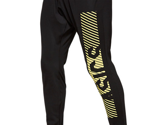 SD FITTED KNIT PANT PERFORMANCE BLACK / SOUR YUZU