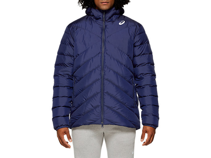 Front Top view of M DOWN JKT, PEACOAT