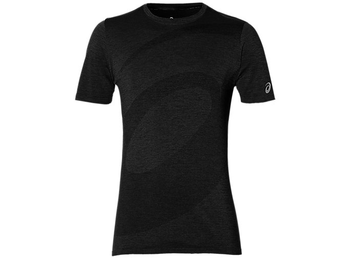 Alternative image view of SEAMLESS SS TOP, PERFORMANCE BLACK