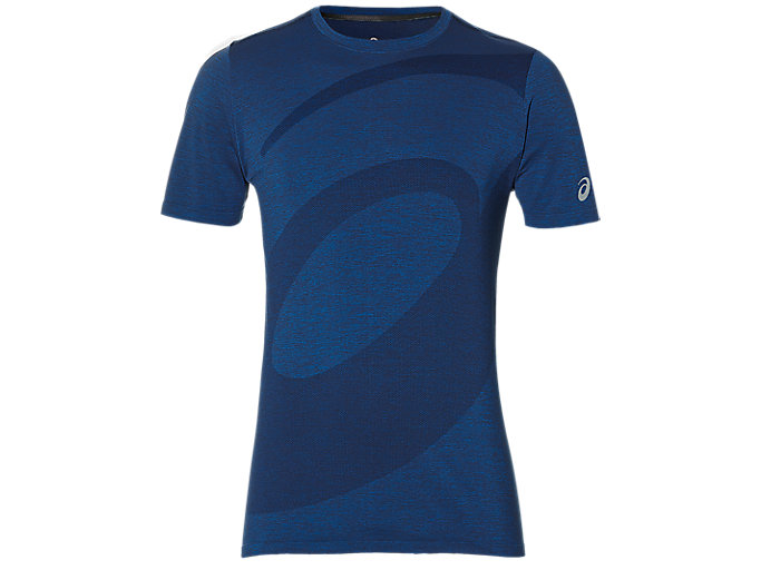 Alternative image view of SEAMLESS SS TOP, ASICS BLUE
