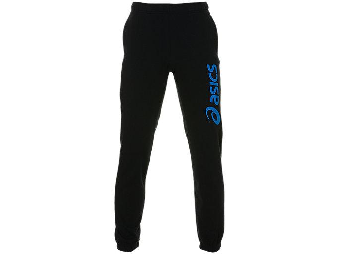 Alternative image view of ASICS BIG LOGO SWEAT PANT, Performance Black/Asics Blue