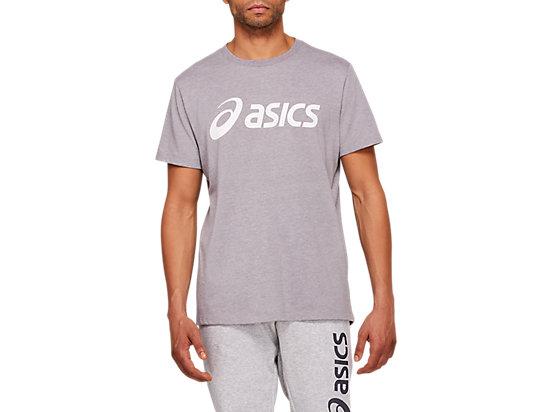 ASICS BIG LOGO TEE PERFORMANCE BLACK/BRILLIANT WHITE