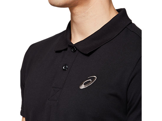 ESNT POLO SHIRT PERFORMANCE BLACK