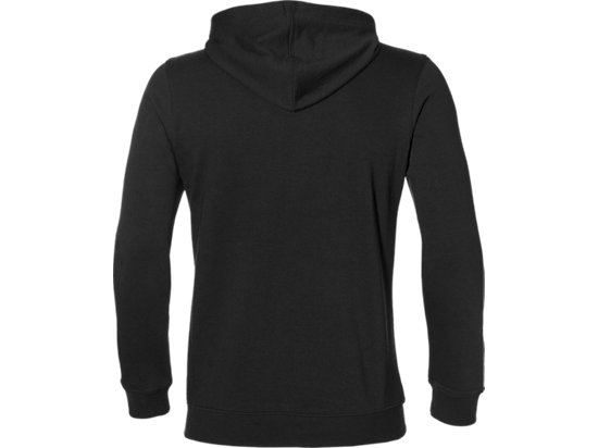 ASICS CHEST LOGO OTH HOODIE PERFORMANCE BLACK