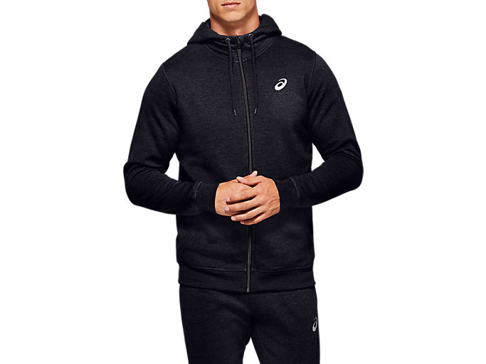 Alternative image view of SPORT KNIT HOOD, PERFORMANCE BLACK