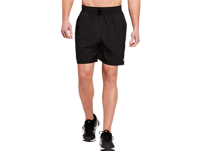 Alternative image view of ESSENTIAL WOVEN TRAINING SHORT 7 INCH,  Performance Black
