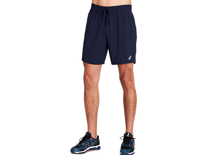 Alternative image view of ESSENTIAL WOVEN TRAINING SHORT 7 INCH,  Peacoat