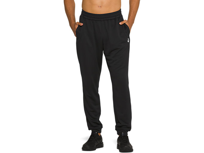 Alternative image view of FRENCH TERRY JOGGER,  Performance Black