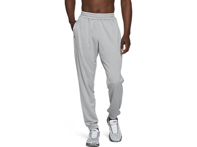 Alternative image view of FRENCH TERRY JOGGER,  Sheet Rock Heather