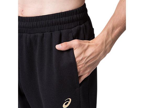 運動復古針織長褲 PERFORMANCE BLACK