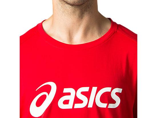 運動短袖T恤 CLASSIC RED/BRILLIANT WHITE