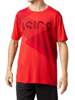 運動印花短袖T恤