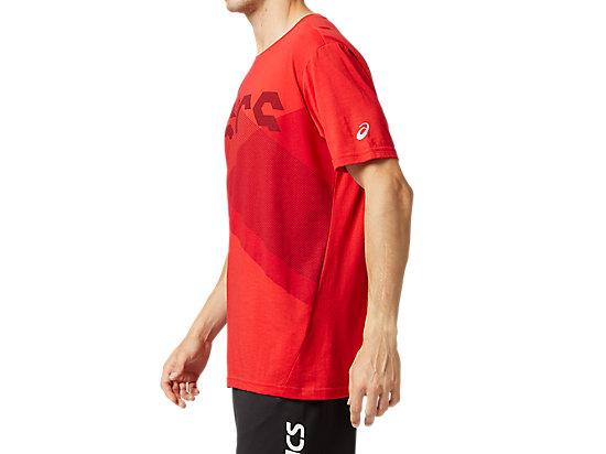 運動印花短袖T恤 CLASSIC RED/BEET JUICE
