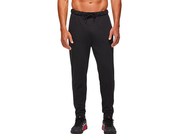 Alternative image view of TAILORED SKINNY PANT, PERFORMANCE BLACK