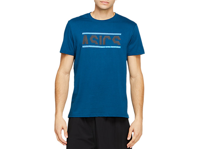 Alternative image view of NEW SOUND TEE, MAKO BLUE/PERFORMANCE BLACK