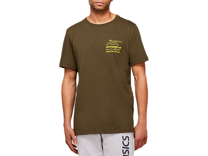 Alternative image view of SMSB GRAPHIC TEE II, Smog Green/Lime Zest
