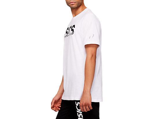 KATAKANA GRAPHIC TEE BRILLIANT WHITE/PERFORMANCE BLACK
