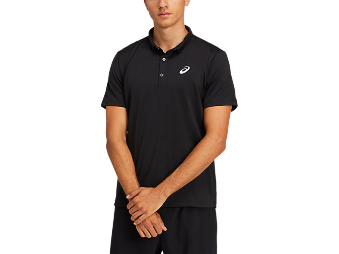Alternative image view of CLUB POLO-SHIRT, PERFORMANCE BLACK