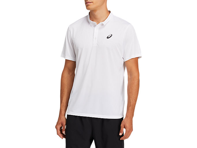 Alternative image view of CLUB POLO-SHIRT, BRILLIANT WHITE
