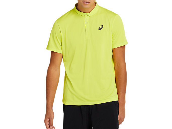 Alternative image view of CLUB POLO-SHIRT, SOUR YUZU