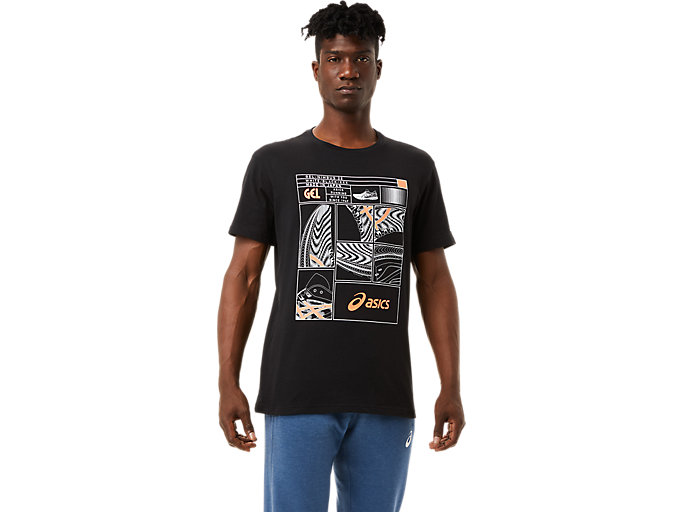 Alternative image view of SHOE TEE 2, Performance Black/Flash Coral