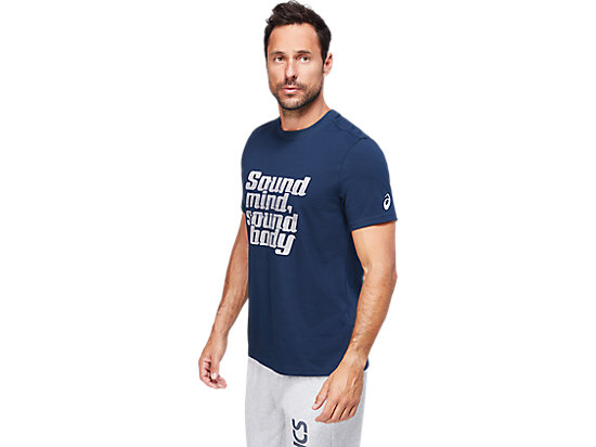 SMSB GRAPHIC TEE IV FRENCH BLUE
