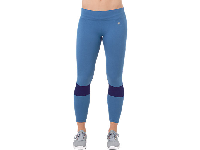 Front Top view of SEAMLESS TIGHT, AZURE