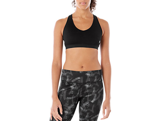 LOW SUPPORT BRA PERFORMANCE BLACK