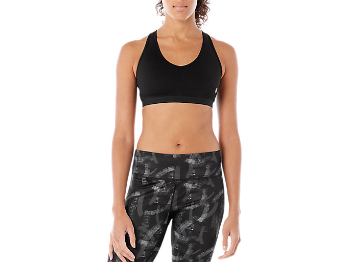 Alternative image view of LOW SUPPORT BRA, Performance Black