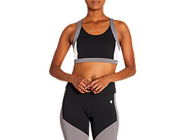 ASICS Color Block Bra 2 Performance Black Mujer Talla L