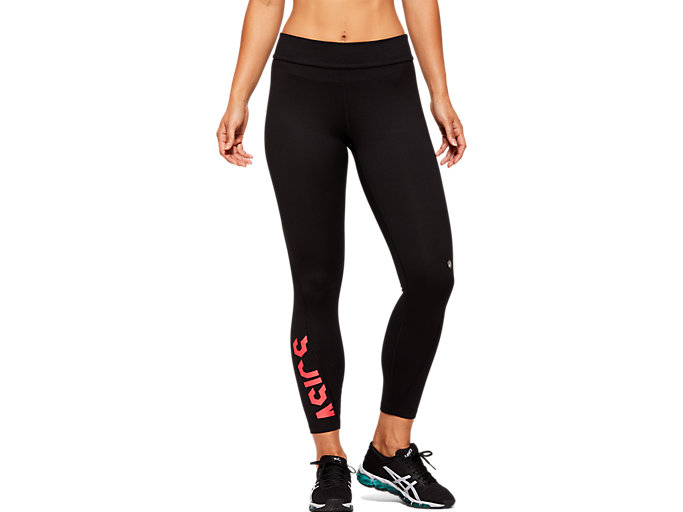 Women's ESNT 7/8 TIGHT | PERFORMANCE BLACK/LASER PINK ...