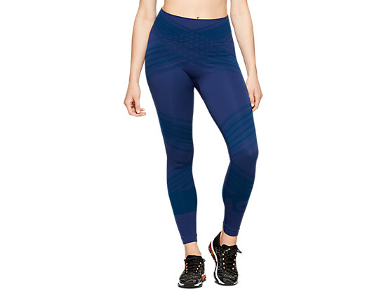 W SEAMLESS CPD TIGHT BLUE EXPANSE