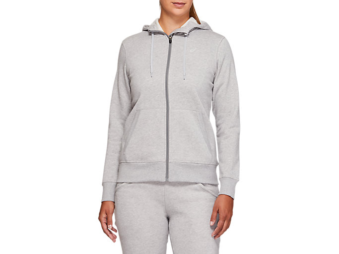 Alternative image view of SPORT KNIT HOOD, MID GREY HEATHER