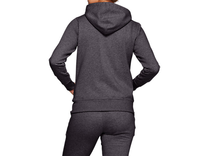 Alternative image view of SPORT KNIT HOOD, DARK GREY HETAHER