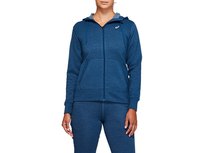 Alternative image view of SPORT KNIT HOOD, MAKO BLUE HEATHER
