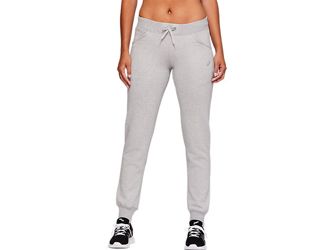 Alternative image view of SPORT KNIT PANT, MID GREY HEATHER