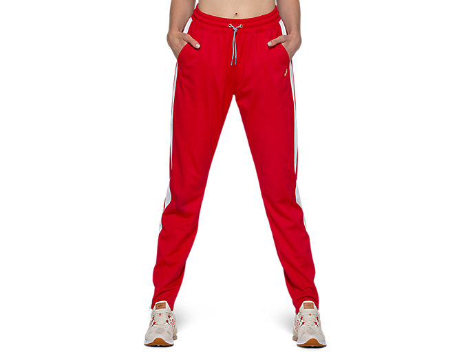 Alternative image view of W TOKYO WARM UP JOGGER, CLASSIC RED/BRILLIANT WHITE