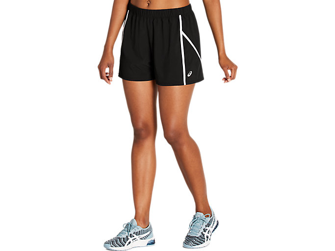 Alternative image view of ESSENTIAL 3 INCH WOVEN SHORT,  Performance Black/Brilliant White