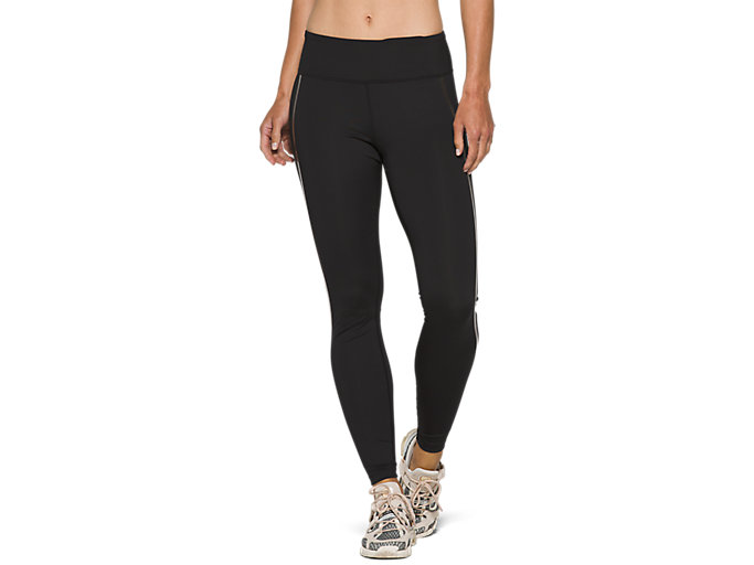 Alternative image view of W NS PIPED DREAM TIGHT, PERFORMANCE BLACK