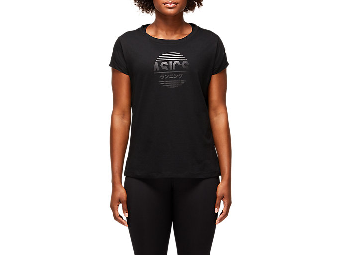 Alternative image view of TOKYO GRAPHIC TEE, PERFORMANCE BLACK