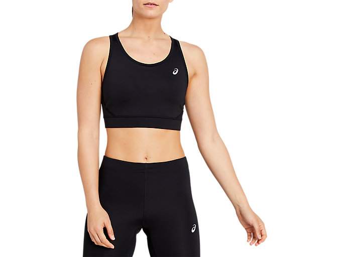 Alternative image view of SPORT BRA TOP, Performance Black