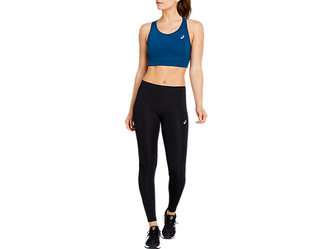 Alternative image view of SPORT BRA TOP, Mako Blue