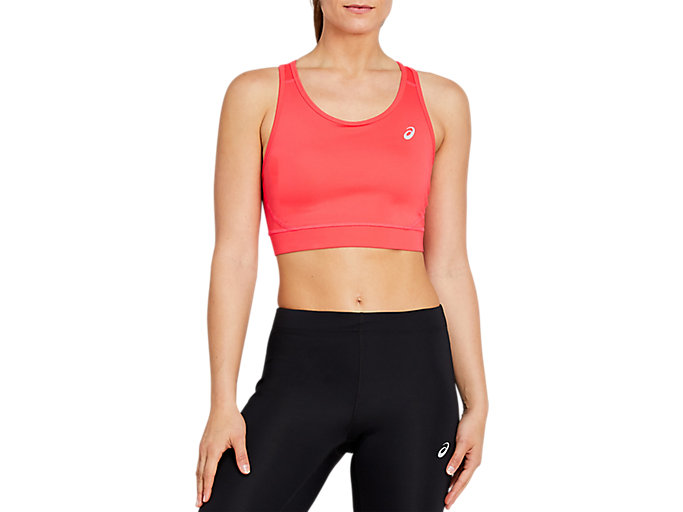 Alternative image view of SPORT BRA TOP, LASER PINK
