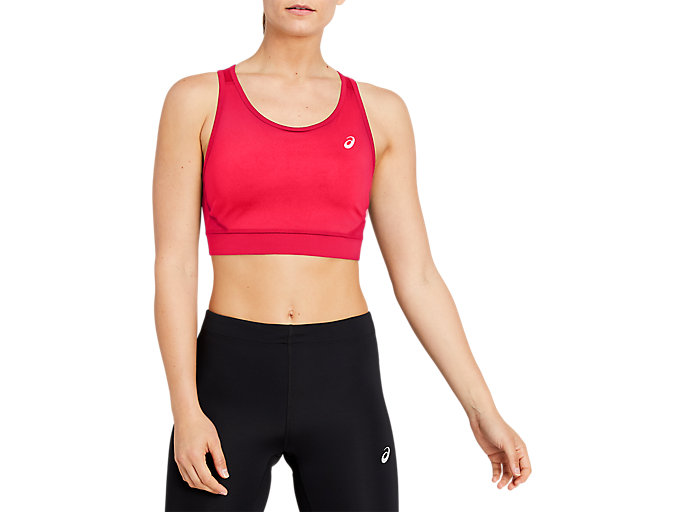 Alternative image view of SPORT BRA TOP, Diva Pink