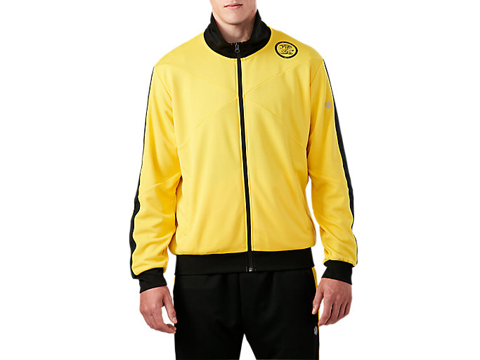 Men's DOJO Track Jacket   Tai-Chi Yellow   Outerwear   ASICS