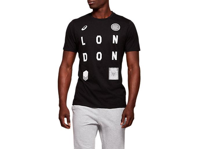 Alternative image view of 유니섹스 시티 런던 반팔 티셔츠