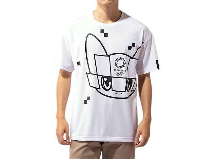 Alternative image view of Tシャツ(東京2020オリンピックマスコット), ホワイト