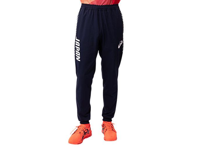 Alternative image view of Podium Pants(JPC EMBLEM)パラリンピック日本代表選手団エンブレム, Mid Night