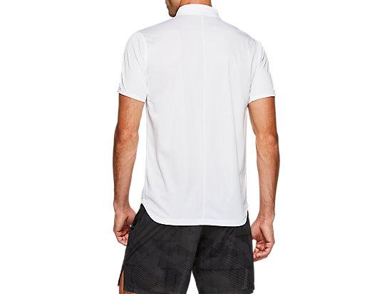 CLUB M POLO-SHIRT BRILLIANT WHITE